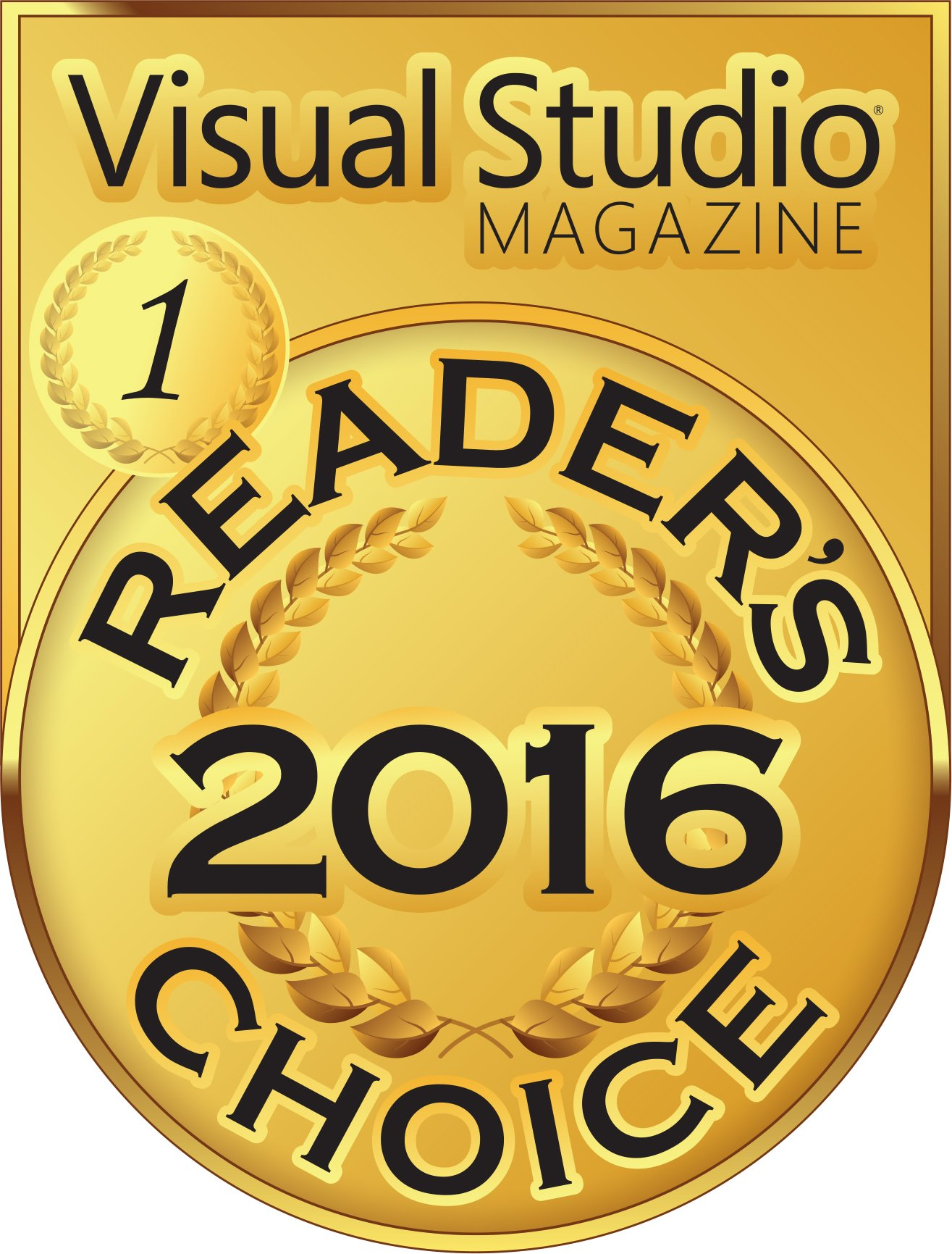 Visual Studio reader's choice award