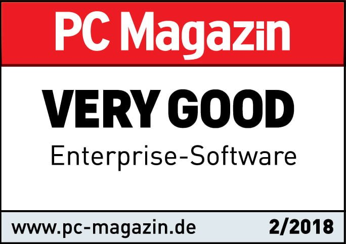 PC mag very good award