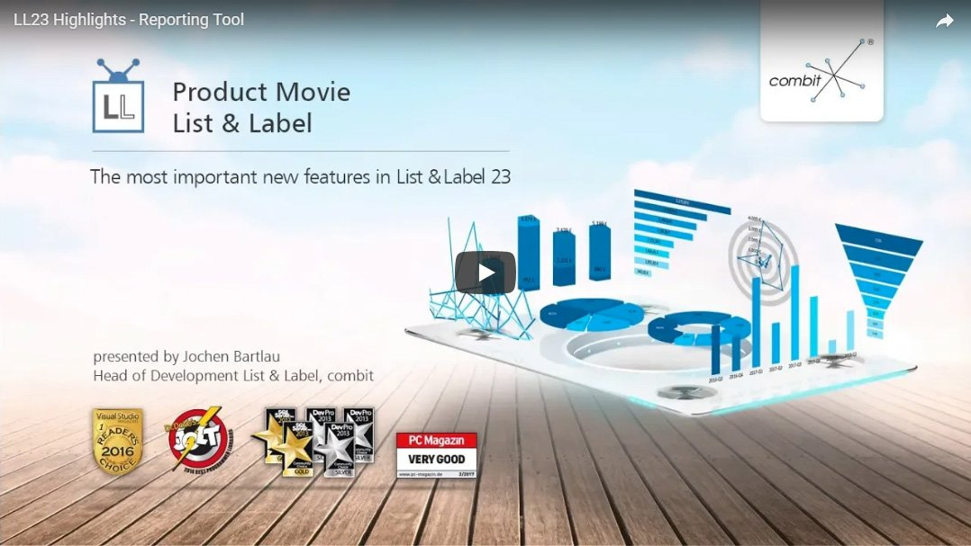 Product Movie List & Label 23