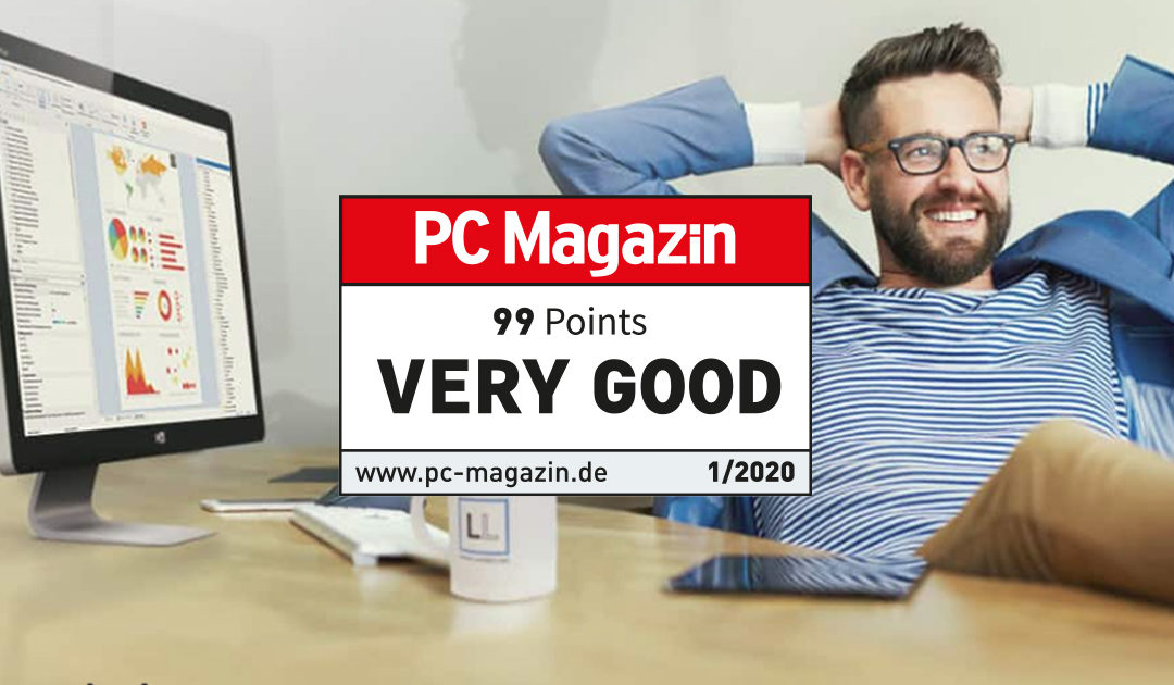 "PC Magazine Rates List & Label as ""VERY GOOD"""