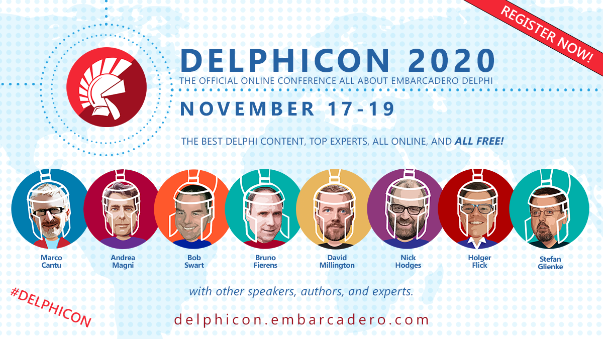 combit Sponsors the DelphiCon 2020