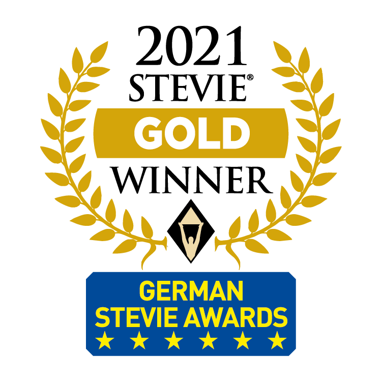 German Stevie Award Gold Winner